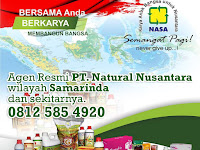 Agen Distributor NASA Wilayah Samarinda dan Sekitarnya.