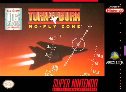 Turn and Burn No Fly Zone SNES