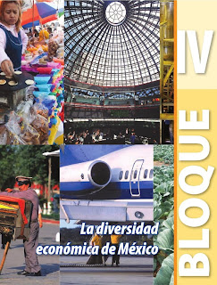Apoyo Primaria Geografía 4to. Grado Bloque IV La diversidad económica de México