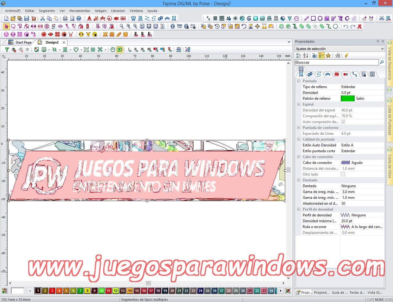 Tajima DG/ML By Pulse v14.1.2.5371 Multilenguaje ESPAÑOL Software De Bordado Profesional 10