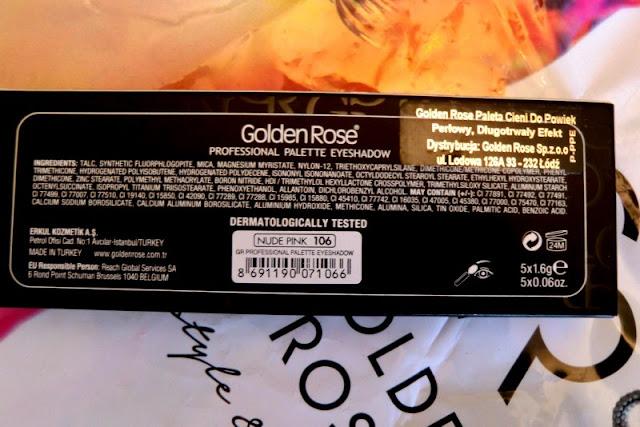Golden Rose - paletka Nude Pink