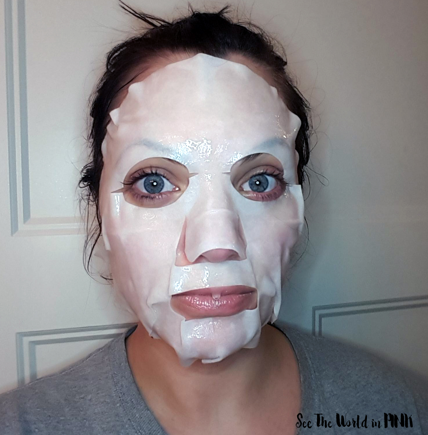 Skincare Sunday #CBBGetsSheetFaced Week Four Recap with Reviews - SKII Facial Treatment Mask