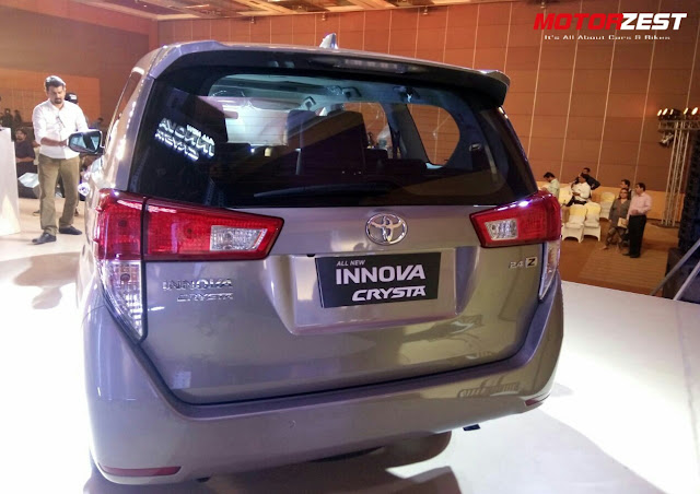 Toyota Launches All New Innova Crysta