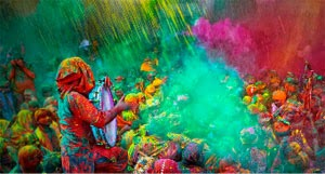 It's time to get colored and indulge in the colorful festival, Holi