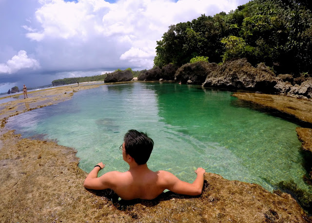 Magpupungko Beach and Rock Pool Siargao
