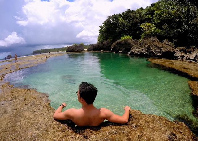 Magpupungko Beach and Rock Pool Siargao