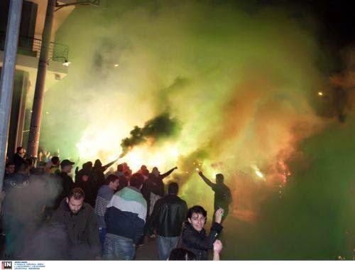 Χαμός στο Αγρίνιο για την Πανάθα! (vid-pics)