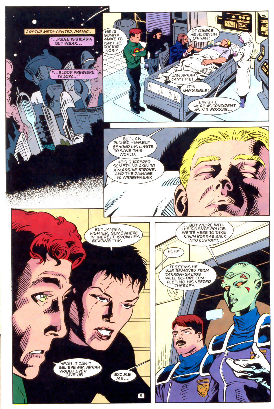 Legion of Super-Heroes (1989) 50 Page 5