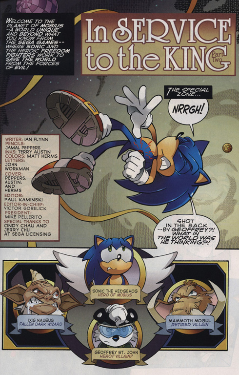 Read online Sonic The Hedgehog comic -  Issue #220 - 2