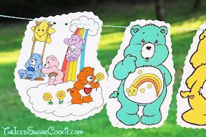 护理熊生日横幅的想法