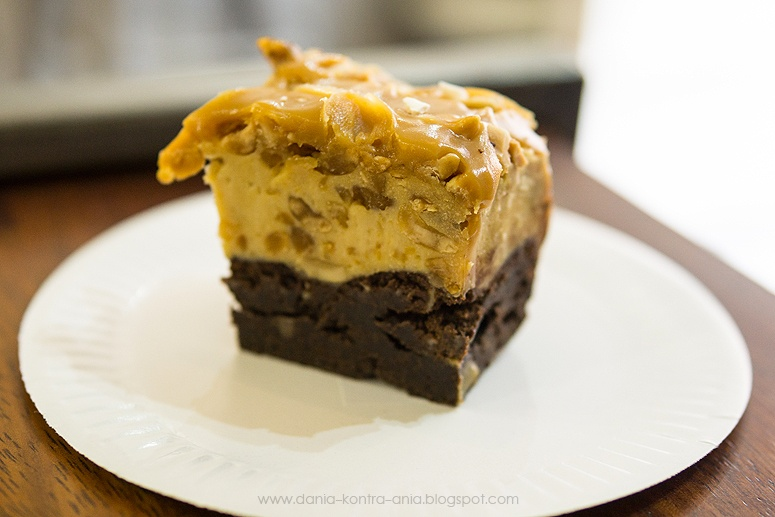 La Baguette Krakow brownie karmelowe