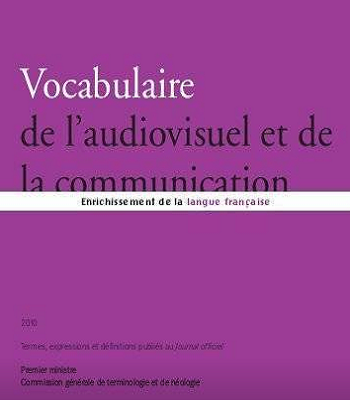 Vocabulaire de l'audiovisuel et de la communication PDF
