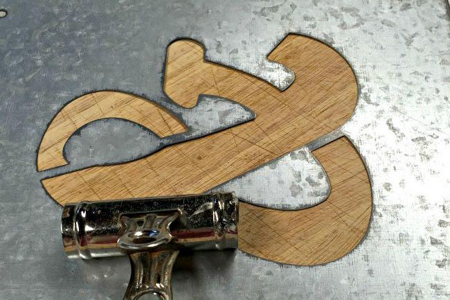 Galvanized Ampersand Wall Hooks