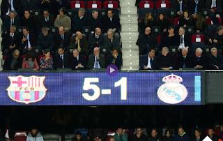 برشلونة يقسو على ريال مدريد بخماسية مقابل هدف فى الدورى الاسبانى الاحد28-10-2018