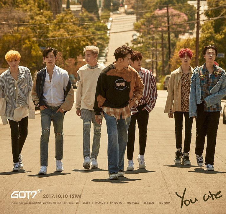 "Comeback Got7 ""You are"" álbum ""7 for 7"""