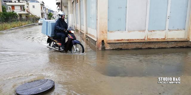 Προβλήματα από τον κυκλώνα Ζορμπά και στην Αργολίδα - Πλημμύρες, πτώσεις δέντρων και κατολισθήσεις