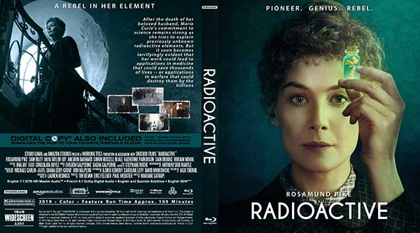 Radioactive (2020) DVD Cover