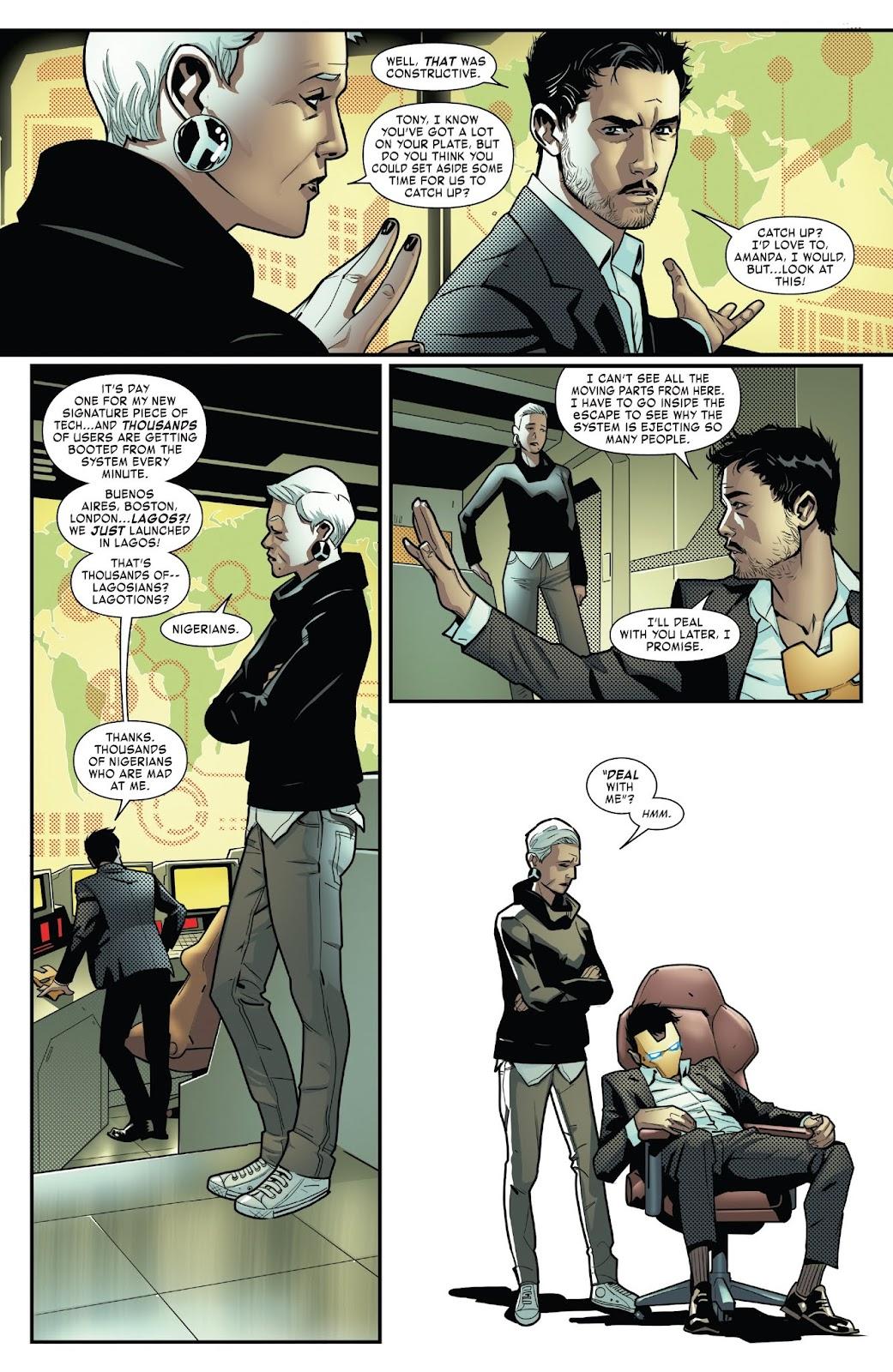 Read online Tony Stark: Iron Man comic -  Issue #6 - 13