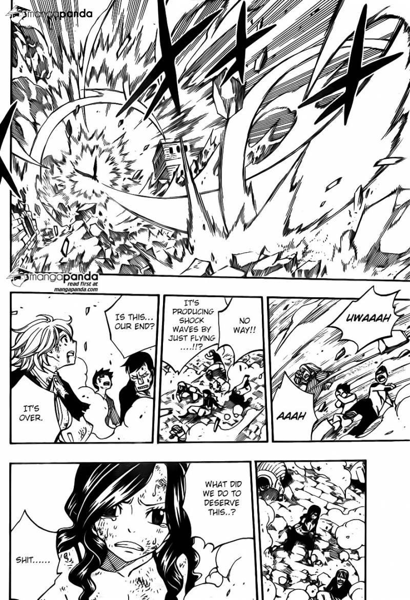 Fairy Tail Ch 400: Wings of hope