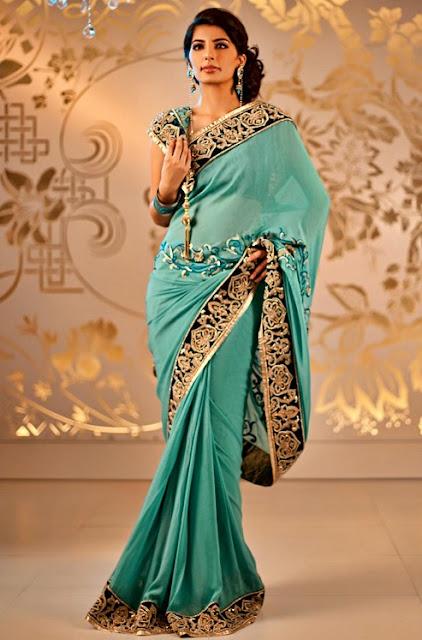 Saree World: Satya Paul Bridal Saree Collection
