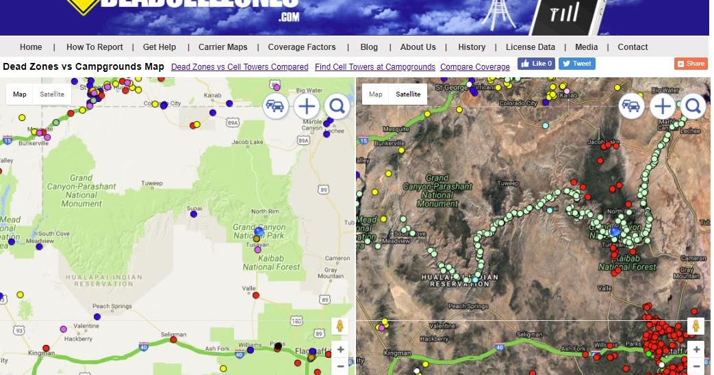 Campground Cell Phone Coverage Reviews