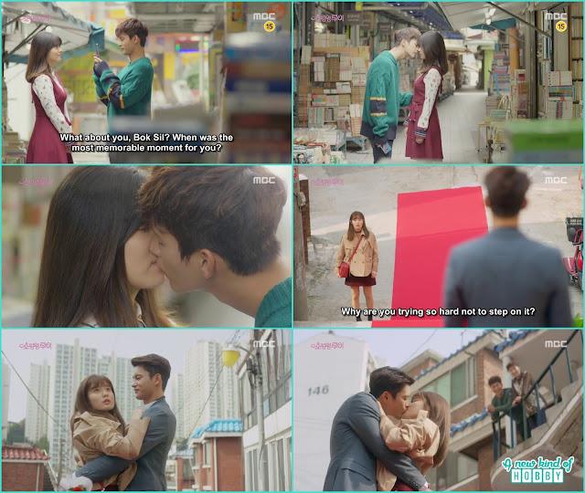 louis street kiss to bok shil - Shopping King Louis (Kisses) korean Drama