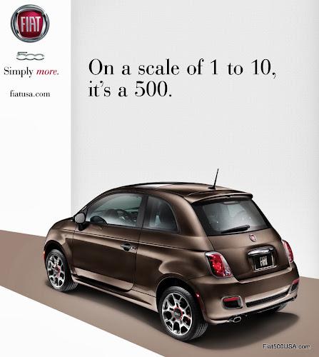 Fiat 500 Advertisement