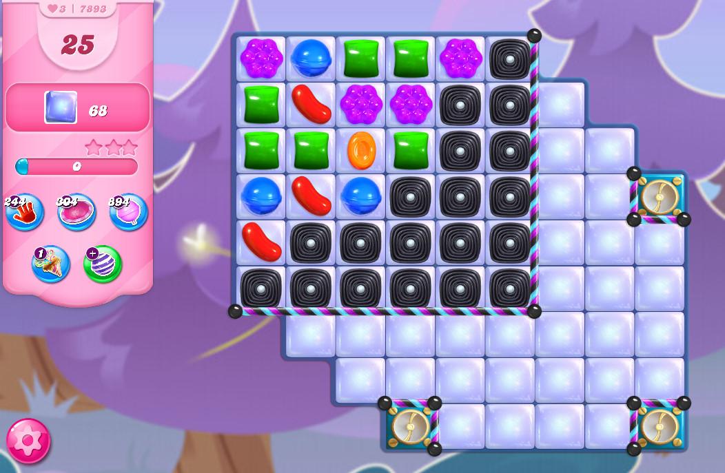 Candy Crush Saga level 7893