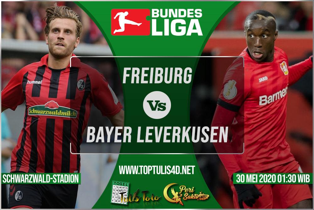 Prediksi Freiburg vs Bayer Leverkusen 30 Mei 2020