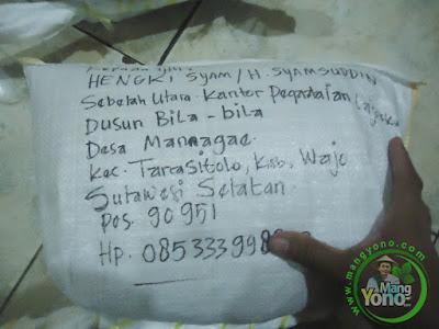 Benih padi Trisakti pesanan Hengki Syam Wajo,Sulsel