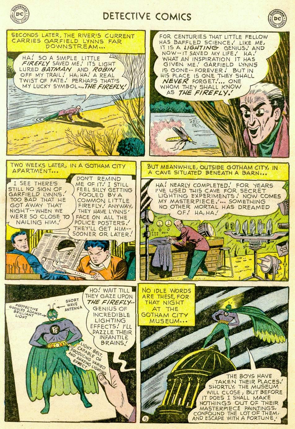 Read online Detective Comics (1937) comic -  Issue #184 - 7