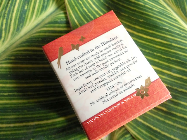 SOS Organics Handcrafted Luxury Bath Soap- Frangipani Review