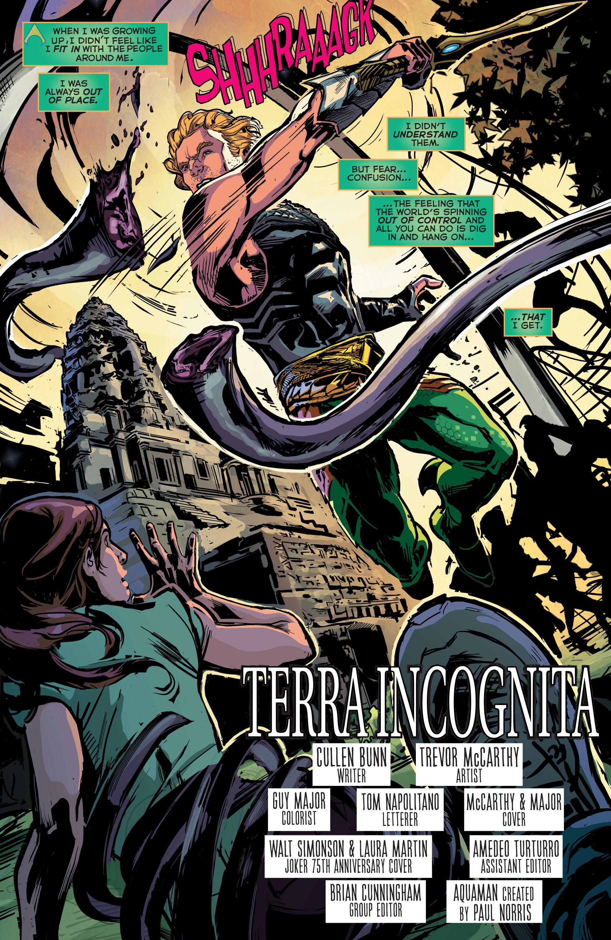 Read online Aquaman (2011) comic -  Issue #41 - 6