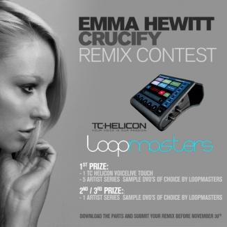 Emma Hewitt Crucify remix contest