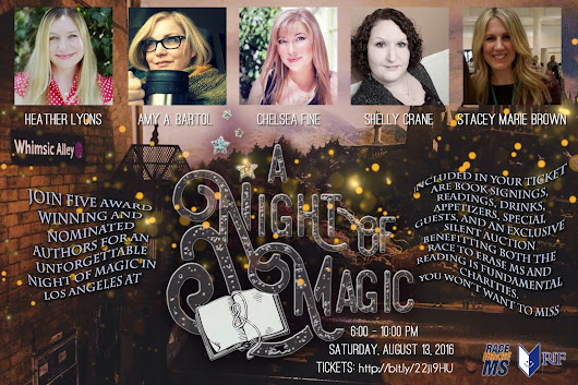 Bestselling Authors Create A Night of Magic in Los Angeles, California, August 13, 2016 !