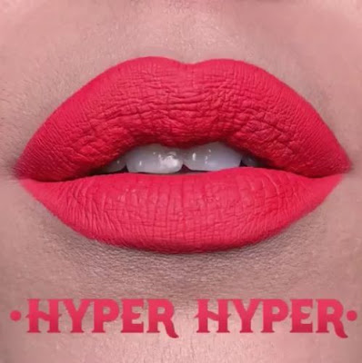 kat von d Everlasting Liquid Lipstick lip swatch hyper hyper