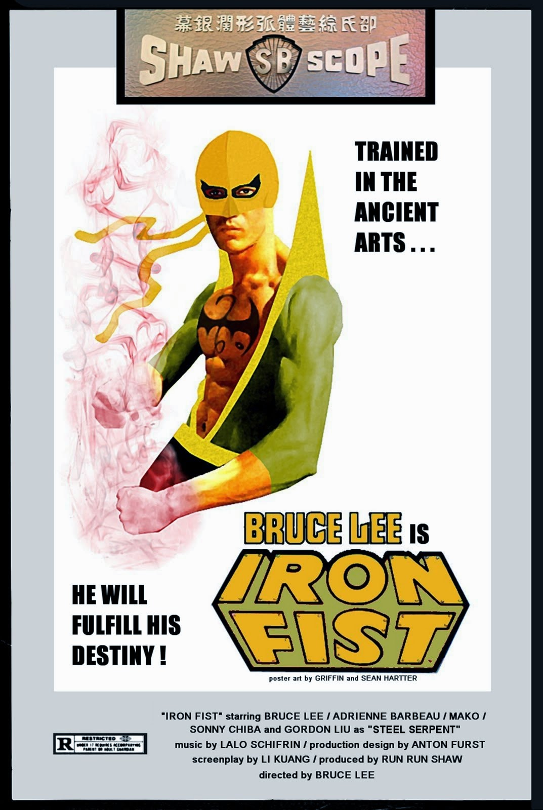 Bruce Lee Is Iron Fist