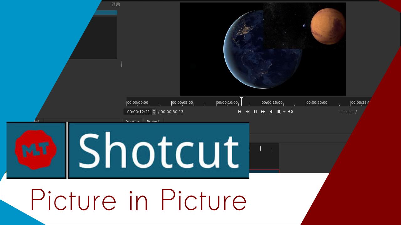 Imagem de capa do post: Criando o efeito picture in picture no Shotcut