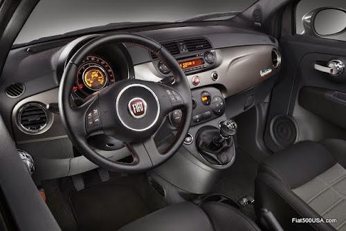 Fiat 500 Prima Edizione Interior
