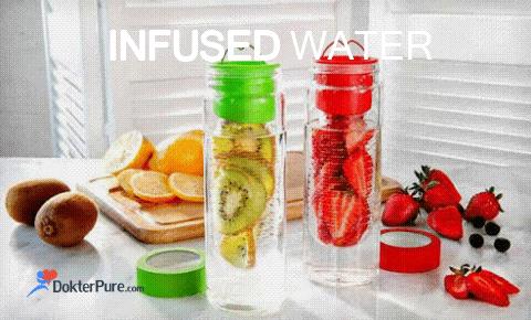 Manfaat Infused Water lebih Berkhasiat dari Air Mineral
