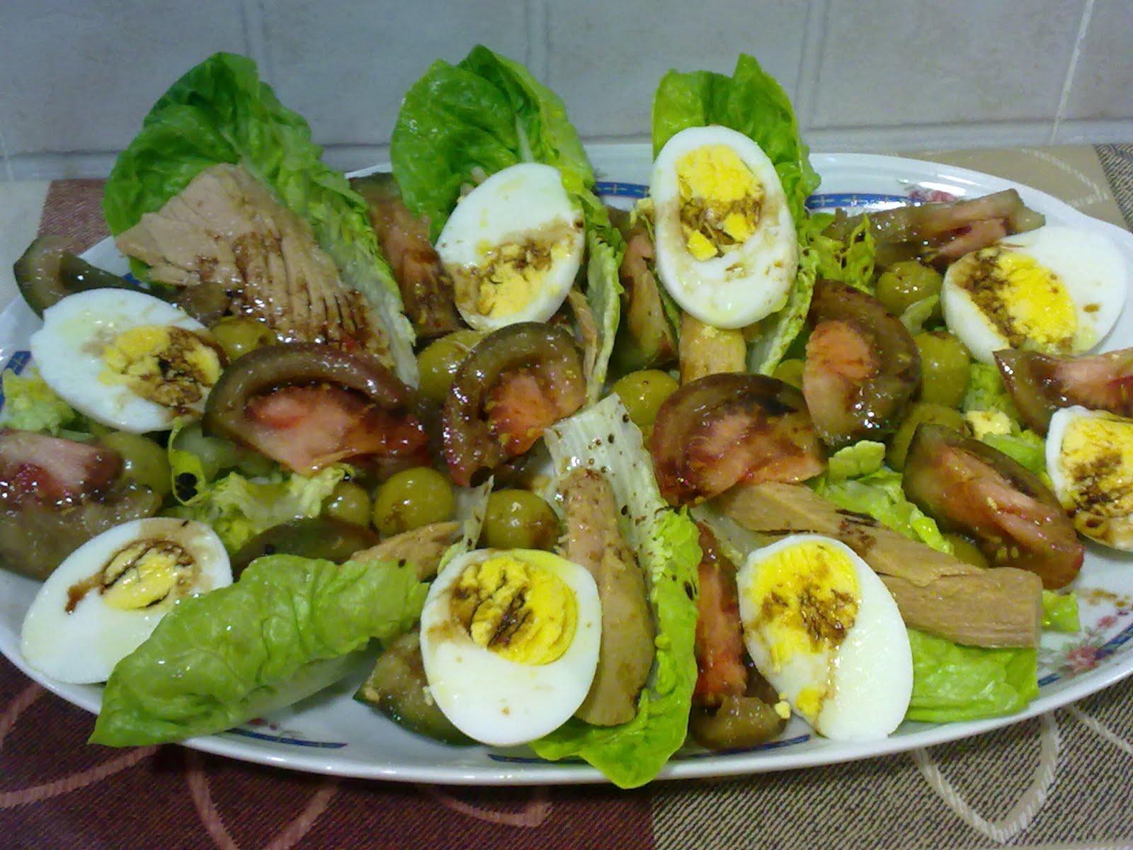 Recetas con encanto ensalada de oto o regada con - Ensaladas gourmet faciles ...
