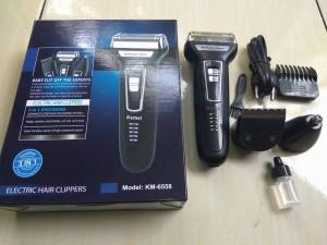 harga Mesin Cukur Rambut Multifungsi Kemei Km-6558. Jual alat cukur terbaik  untuk mencukur kumis ... d0f3b7b492