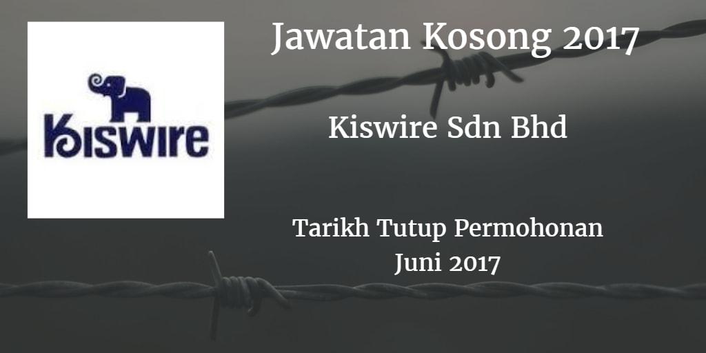 Jawatan Kosong Kiswire Sdn Bhd Juni 2017