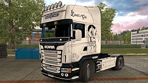 Scania RJL Devil's Girl skin