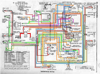 auto wiring diagram  dodge power wagon wm300 truck wiring diagram