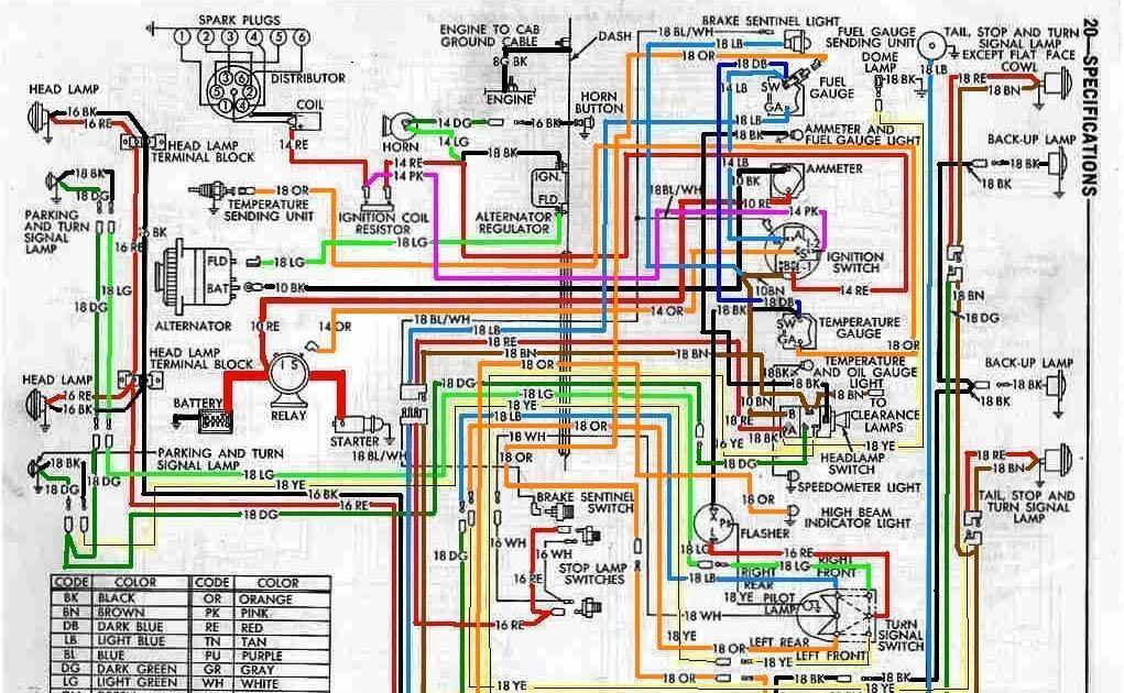 Free Auto Wiring Diagram: Dodge Power Wagon WM300 Truck Wiring Diagram