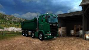 Scania RJL 8×4 Tipper Truck
