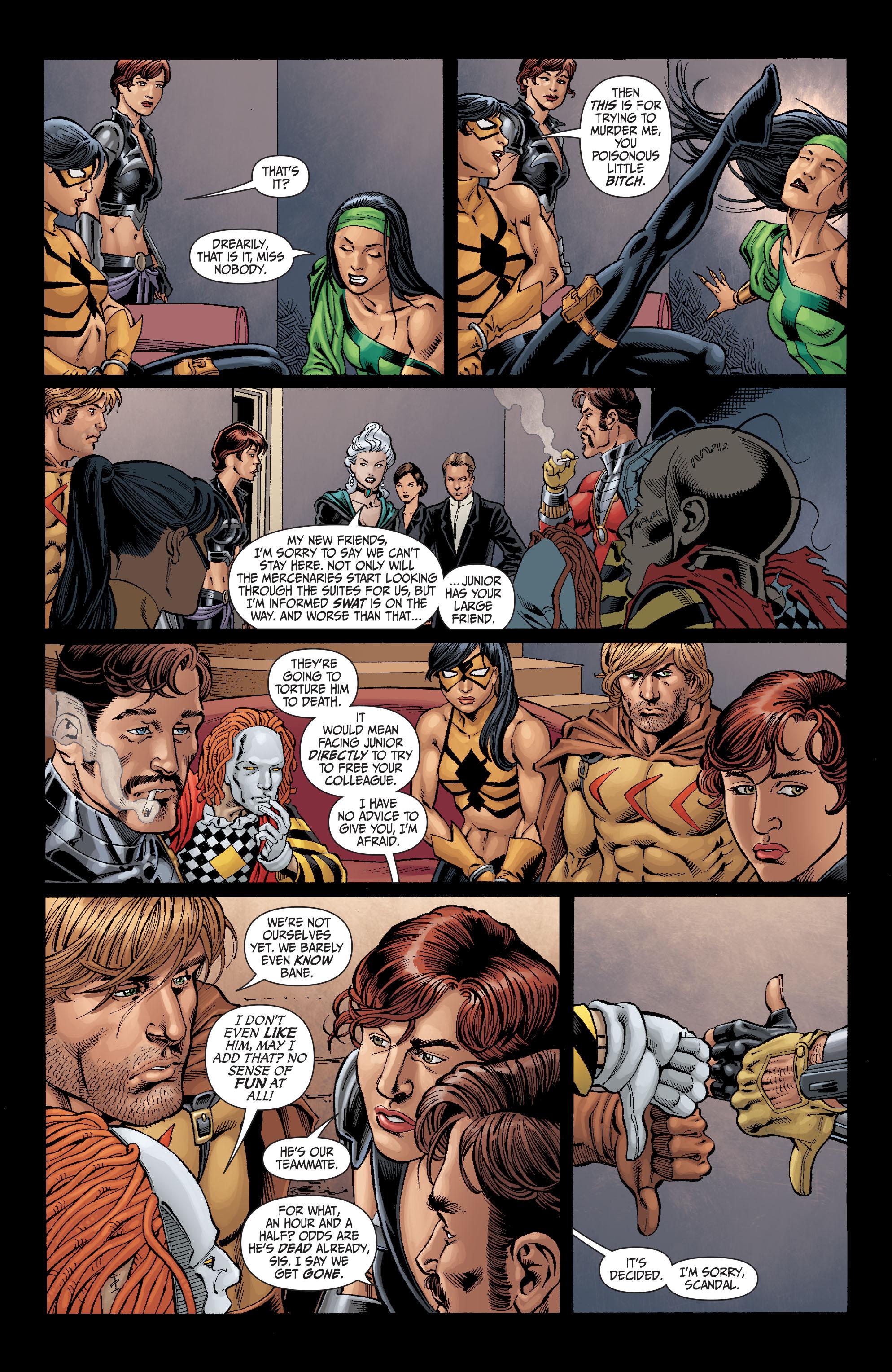 Read online Secret Six (2008) comic -  Issue #5 - 18