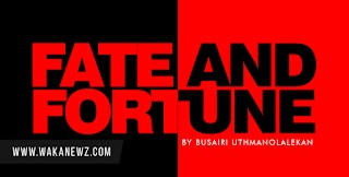 FATE AND FORTUNE.... CHAPTER 4, 5 AND 6