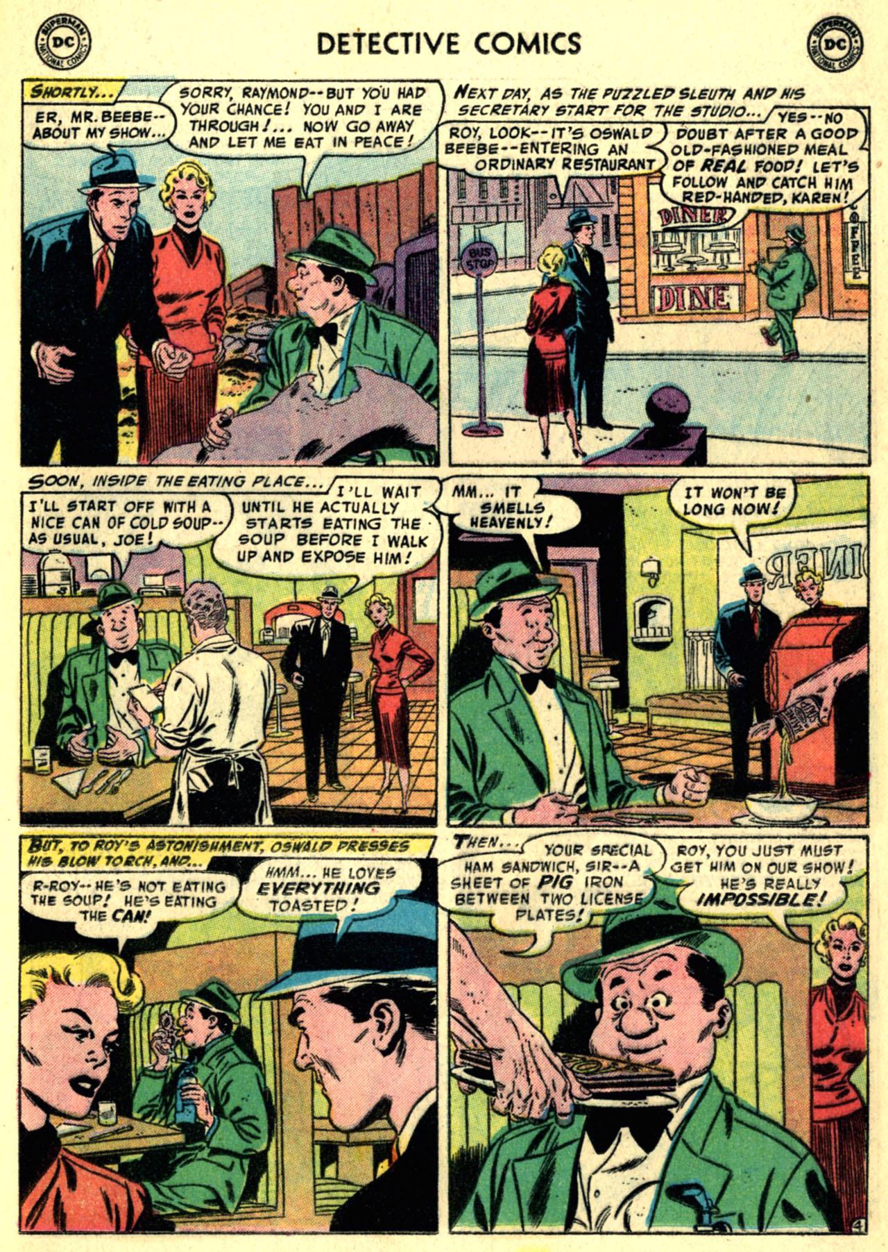 Detective Comics (1937) 232 Page 19
